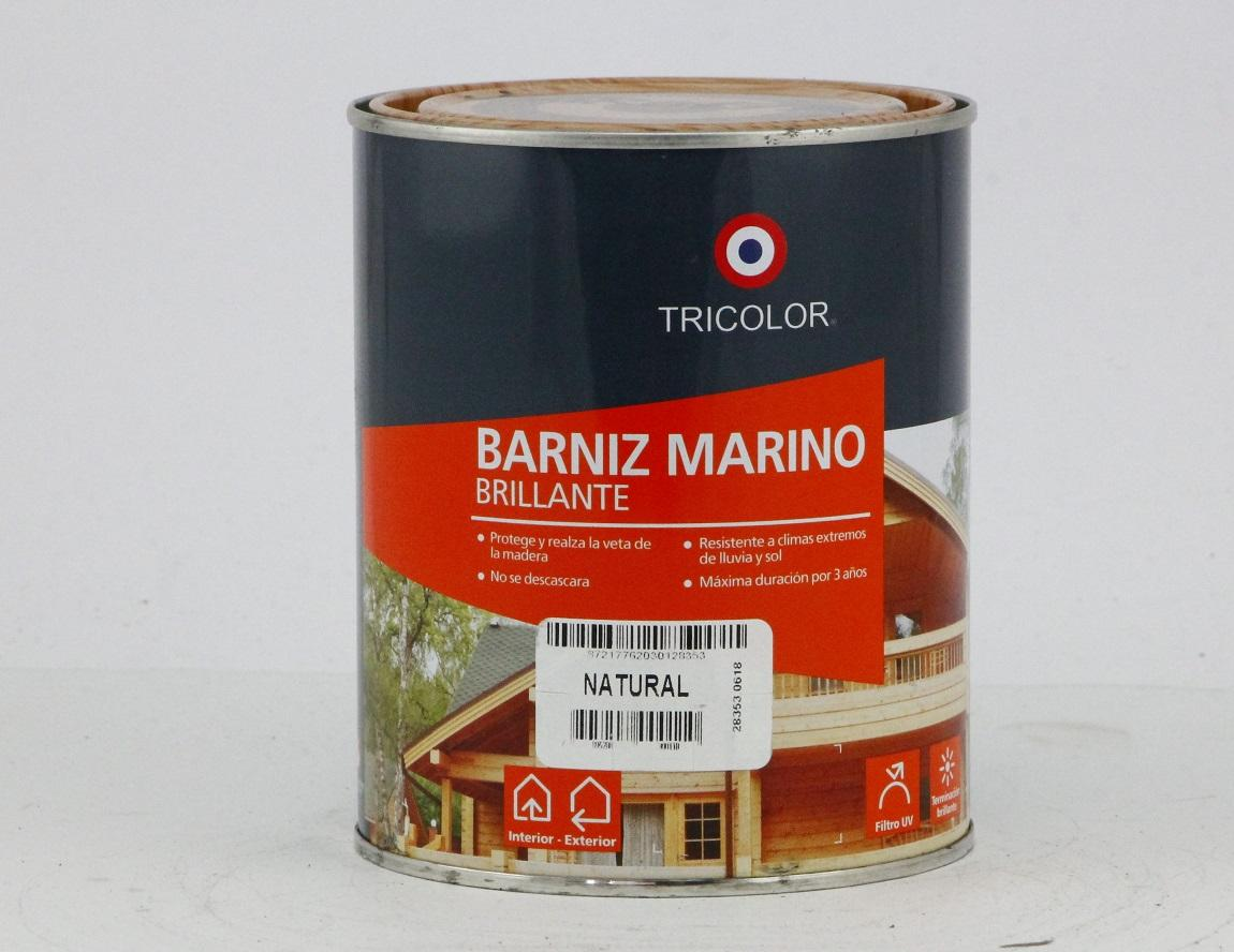 BARNIZ MARINO BRILLANTE NATURAL 1/4GL