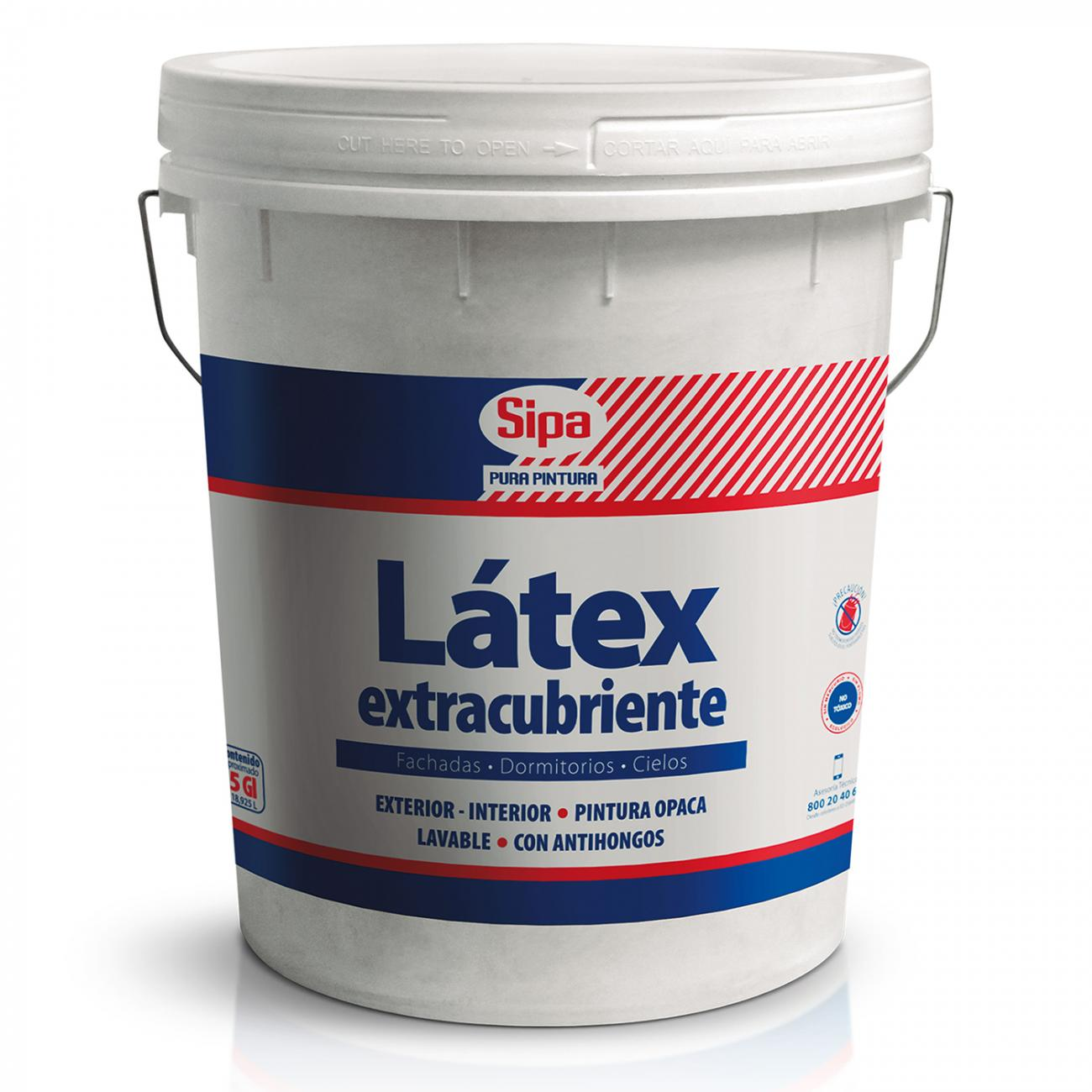 LATEX EXTRACUBRIENTE BLANCO 4GL
