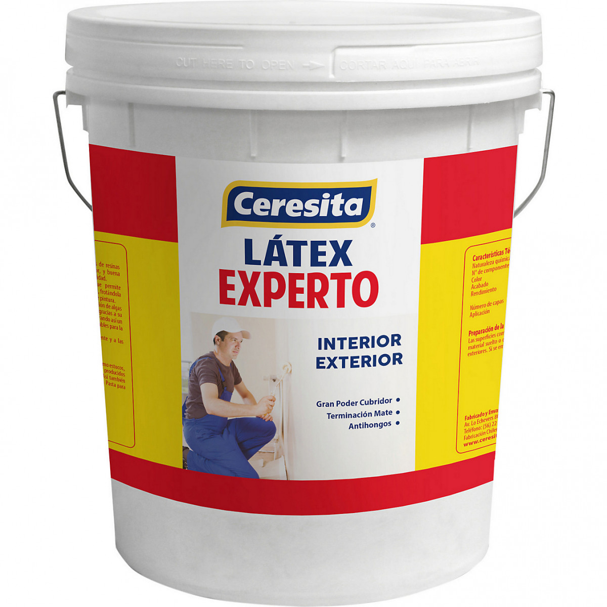 LATEX EXPERTO BLANCO 1TINETA