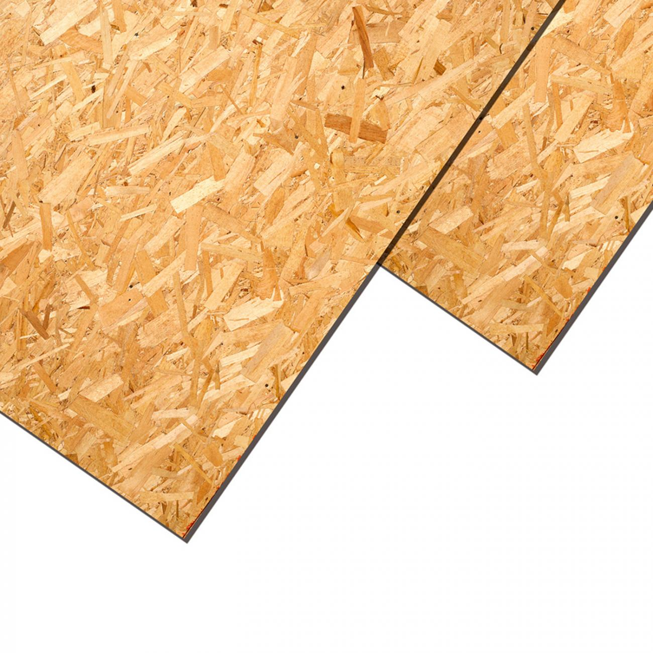 Osb Home2 9.5 Mm X 1.22 X 2.44  Azul/naranjo L. Pacific